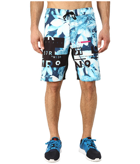Reebok - ONE Series Sublim 1 Shorts (Neon Blue) Men's Shorts