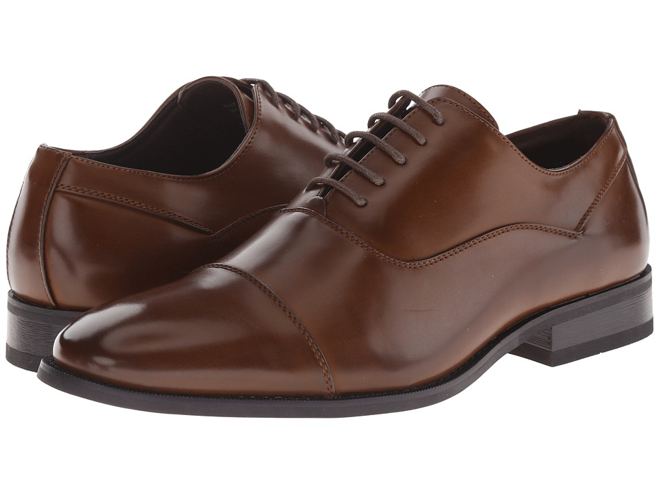 Kenneth Cole Unlisted - Half Time (Cognac) Men's Shoes