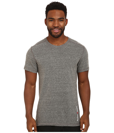 Reebok - CrossFit Triblend Short Sleeve Solid Tee (Black) Men's T Shirt