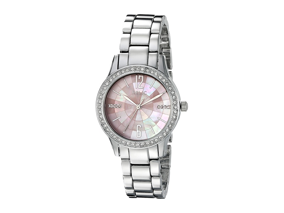 Relic - Stacy (Silver Tone/Pink Mother-of-Pearl) Watches