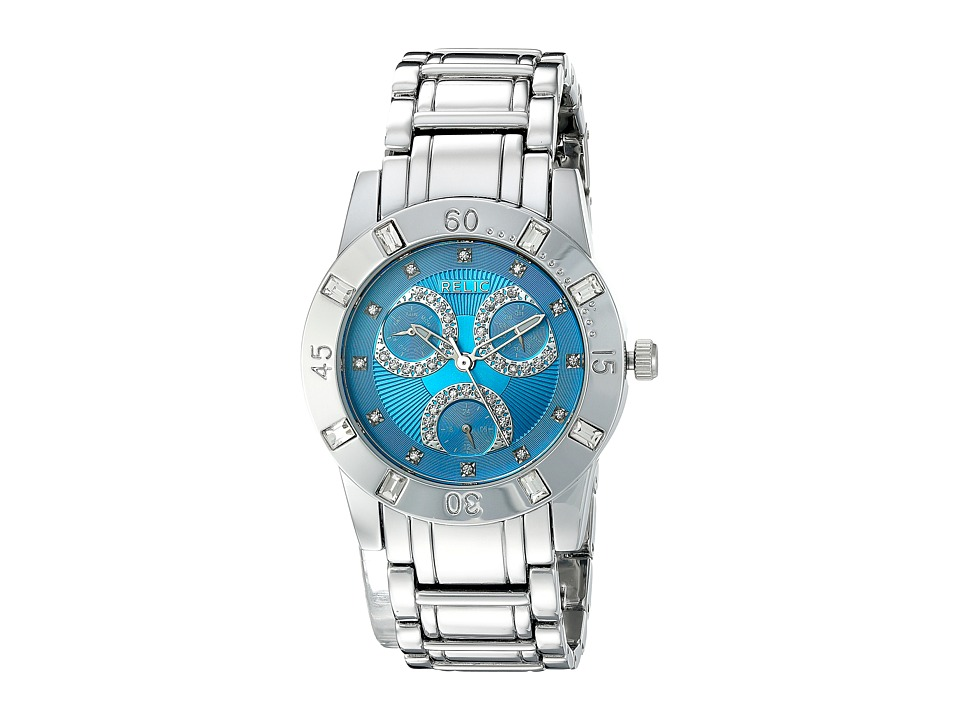 Relic - Beth (Silver Tone/Turquoise) Watches