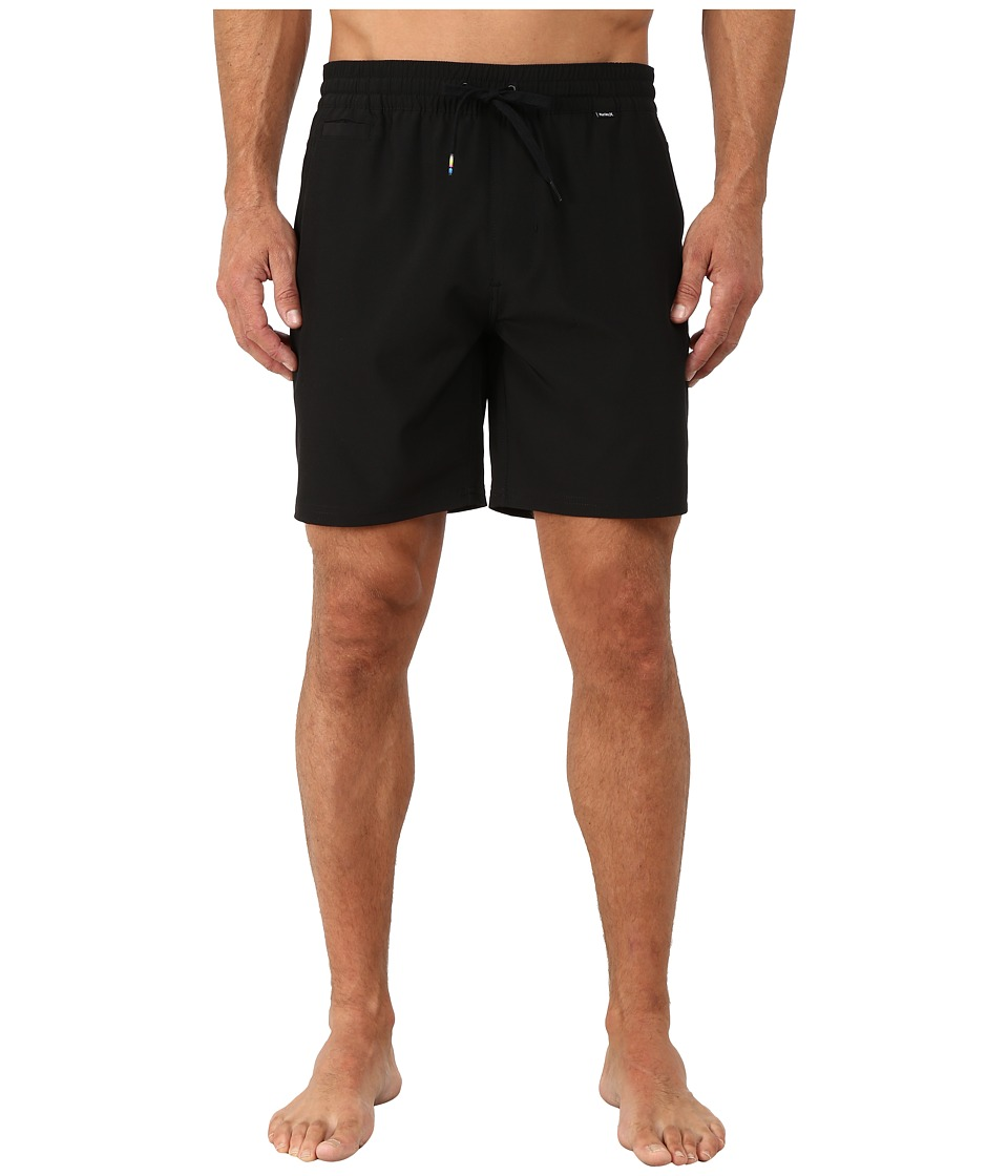 Hurley - Phantom One and Only Volley Shorts (Black) Men