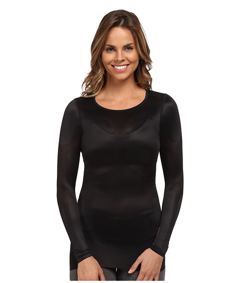 Reebok - CrossFit Long Sleeve Lightweight Top (Black) Women's Long Sleeve Pullover