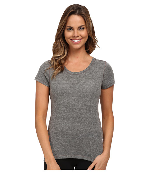 Reebok - CrossFit Short Sleeve Triblend Tee (Black) Women