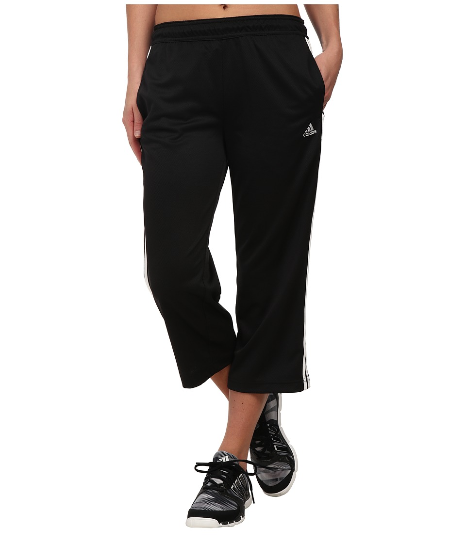 adidas - Field Day Capris (Black/White/Grey) Women's Capri