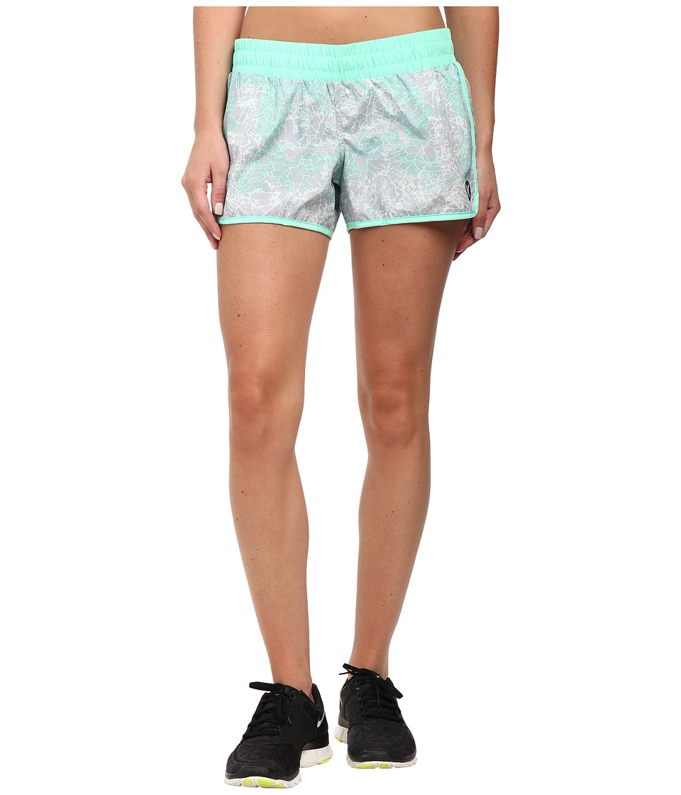 Hurley - Dri-Fit 3.5 Beachrider Runner (Green Glow) Women's Shorts