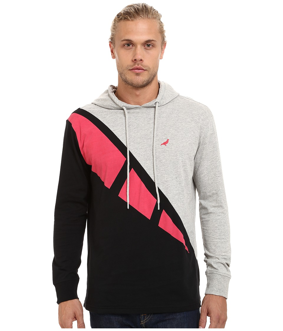 Staple - Retro Hoodie (Heather Grey) Men's Sweatshirt