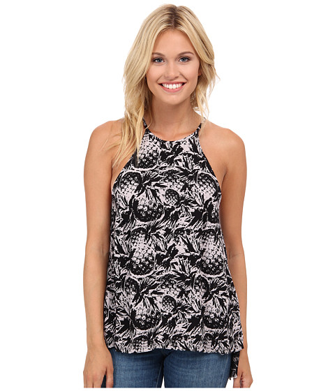 Hurley - Madison Tank Top (White Pineapple) Women's Sleeveless