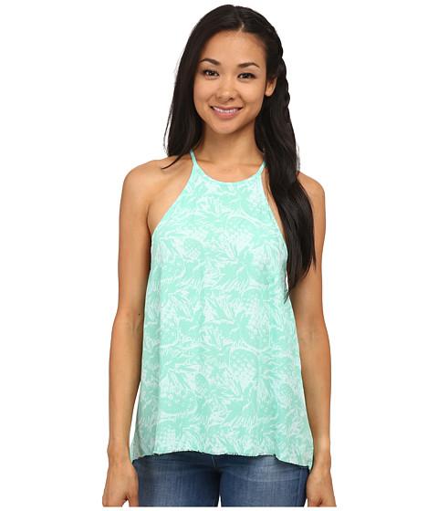 Hurley - Madison Tank Top (Green Glow Pineapple) Women