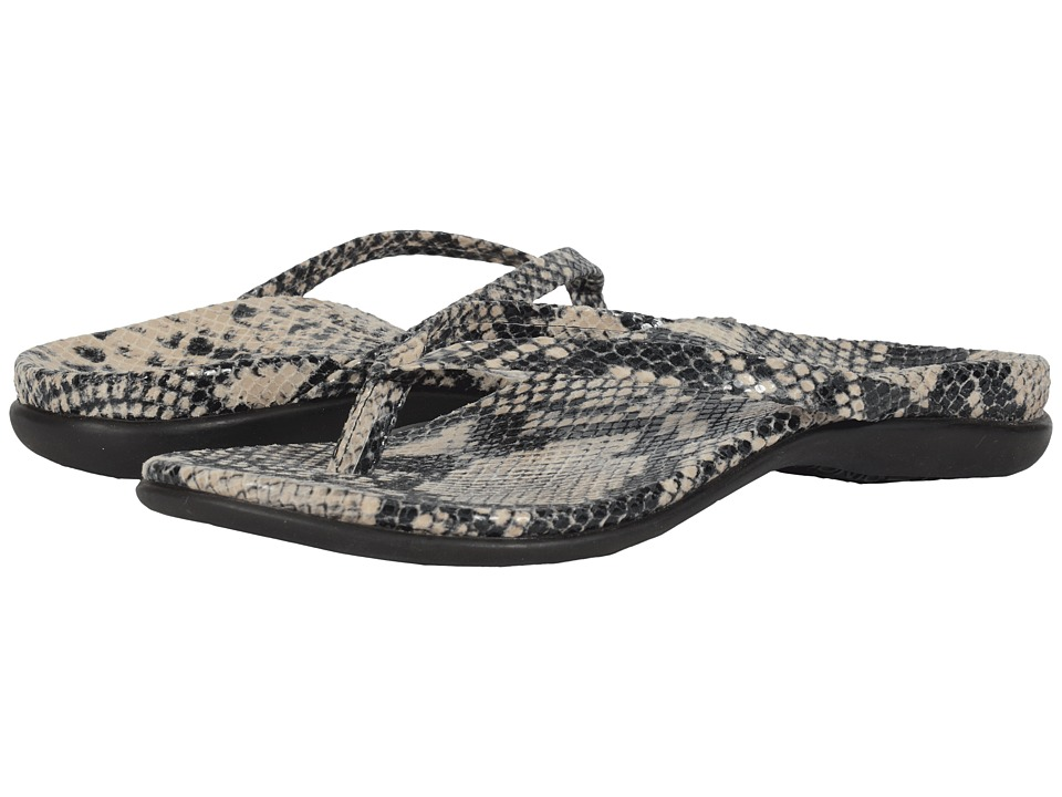 VIONIC - Selena Corfu (Natural Snake) Women's Sandals