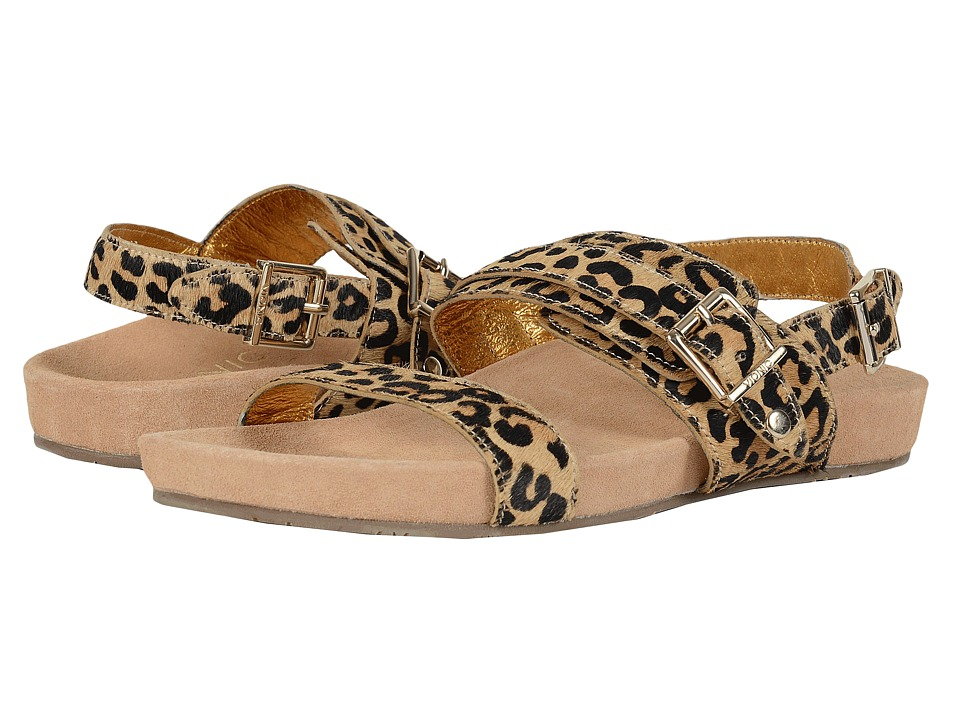 VIONIC - Grace Samar (Tan Leopard) Women's Sandals