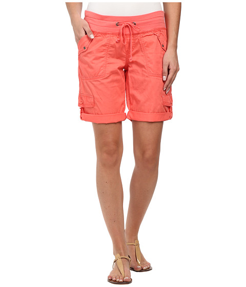 UNIONBAY - Kyla Knit Waist Bermuda Short (Georgia Peach) Women's Shorts