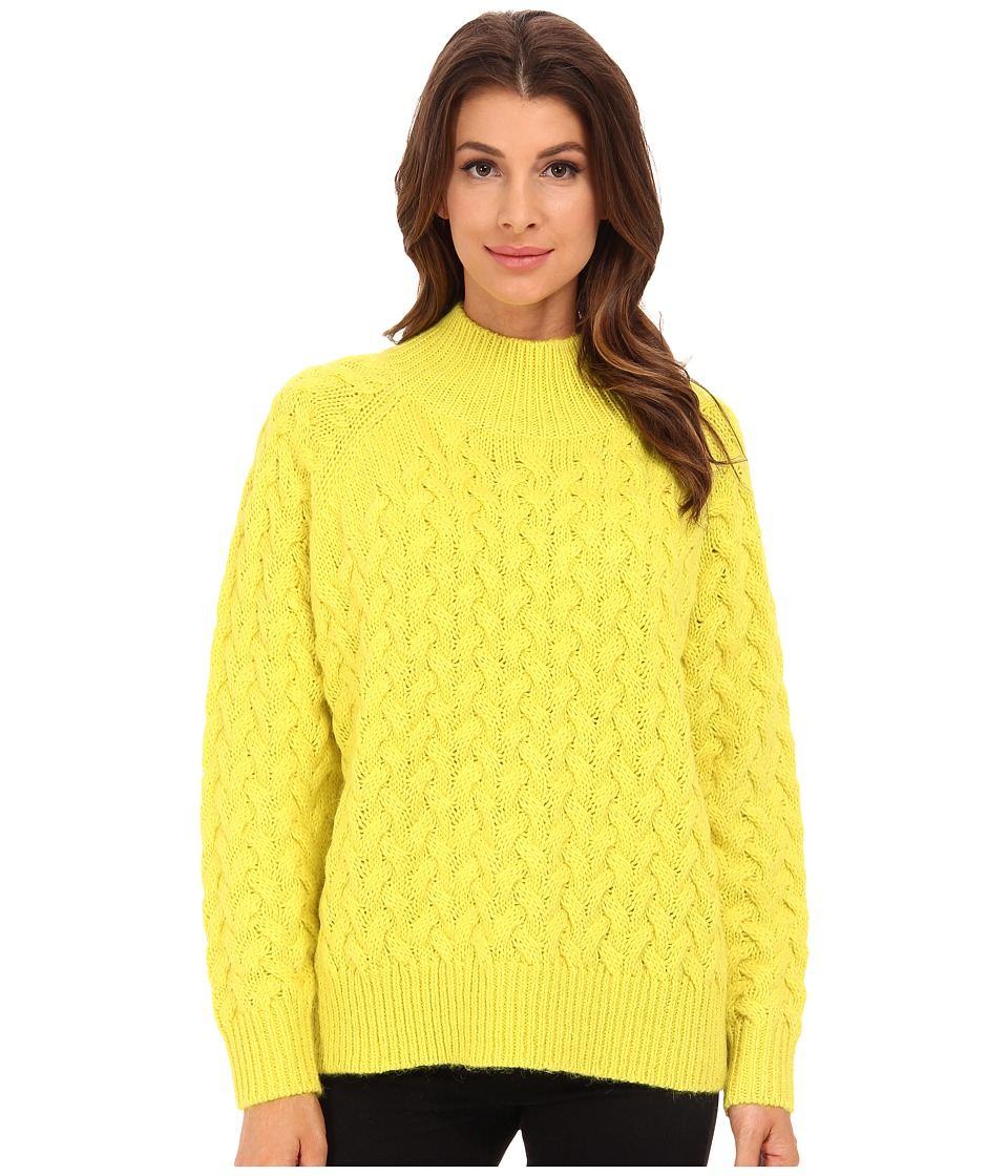 French Connection - Glinka Knits Sweater 78EBU (Acid Blonde) Women