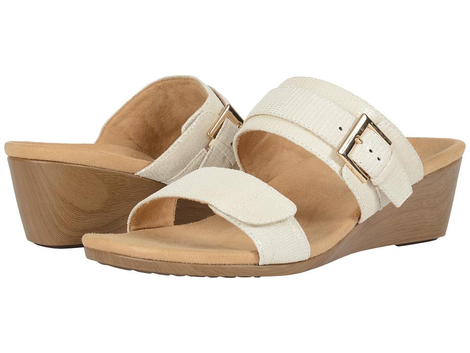 VIONIC - Natoma (White Snake) Women's Wedge Shoes