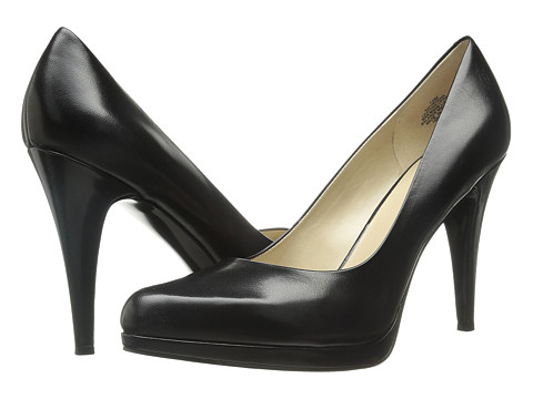 Nine West - Rocha (Black Leather) High Heels