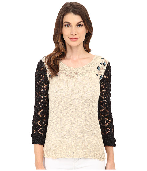 UNIONBAY - Sadie Jewel Sweater (Hazey) Women's Sweater