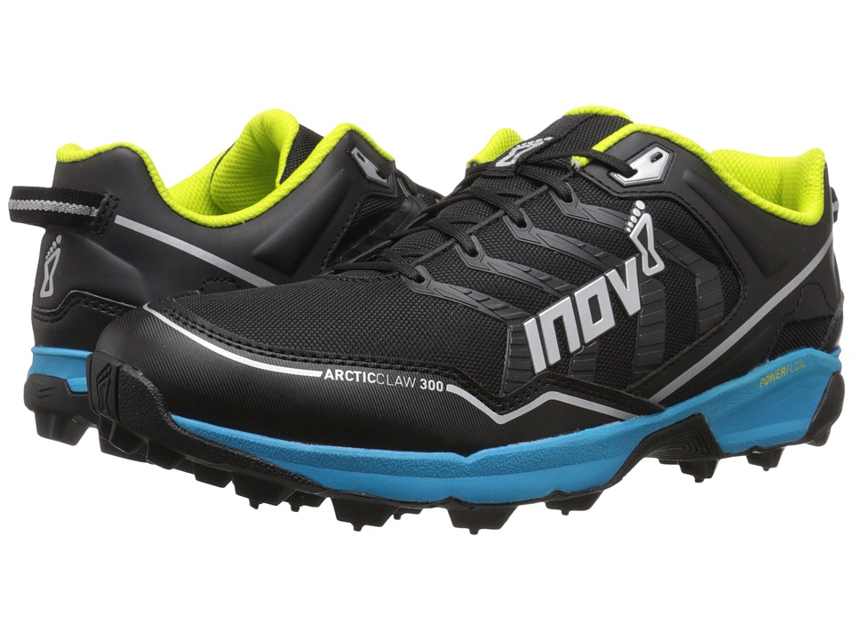 inov-8 - Arctic Claw 300 (Black/Blue/Silver/Lime) Running Shoes