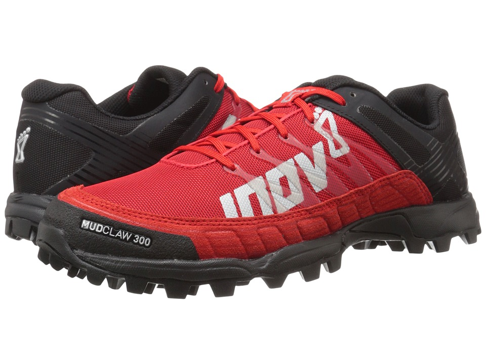 inov-8 - Mudclaw 300 (Black/Red) Running Shoes