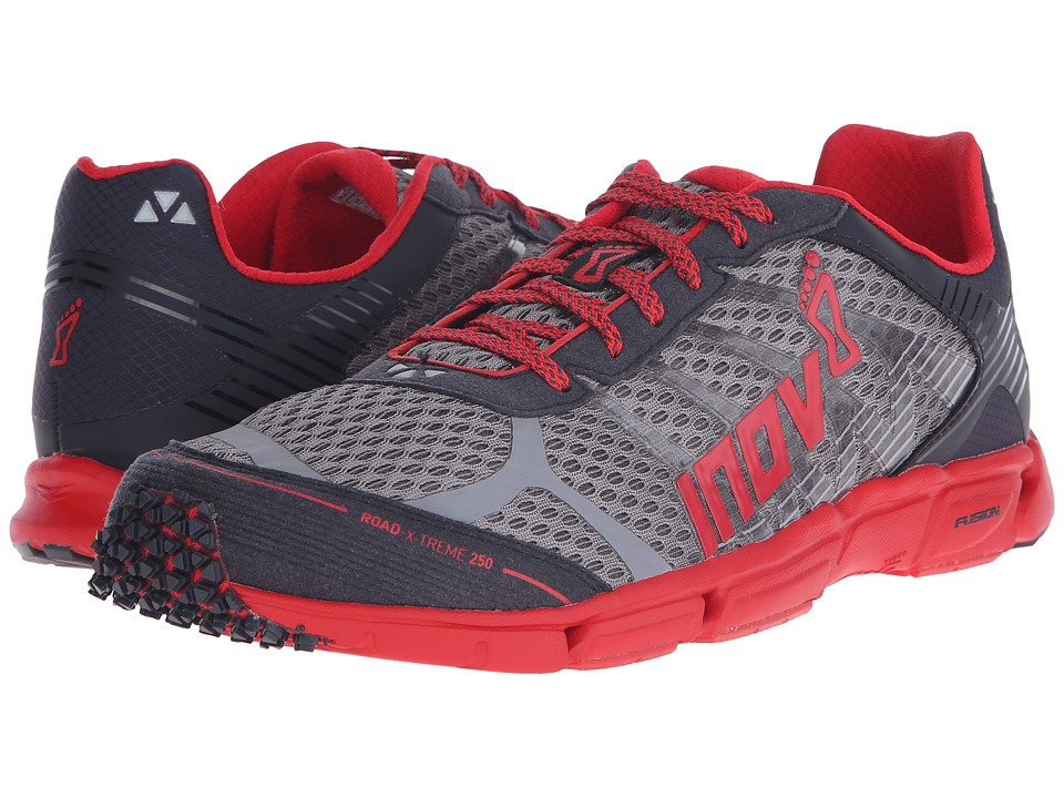 inov-8 Road-X-Treme 250 (Grey/Black/Red) Running Shoes
