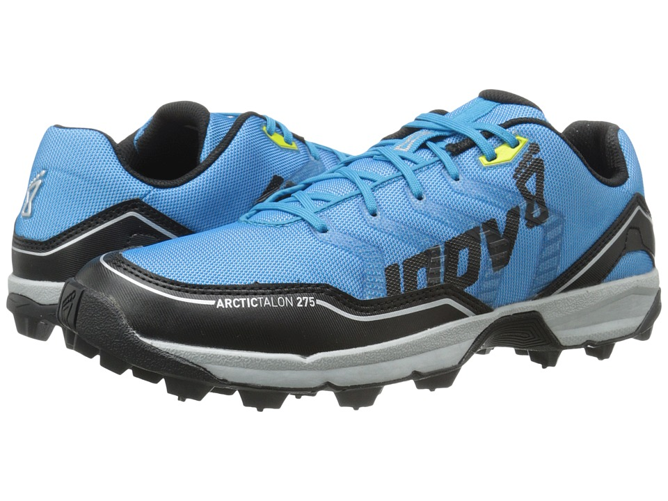 inov-8 - Arctic Talon 275 (Blue/Black/Silver/Yellow) Running Shoes
