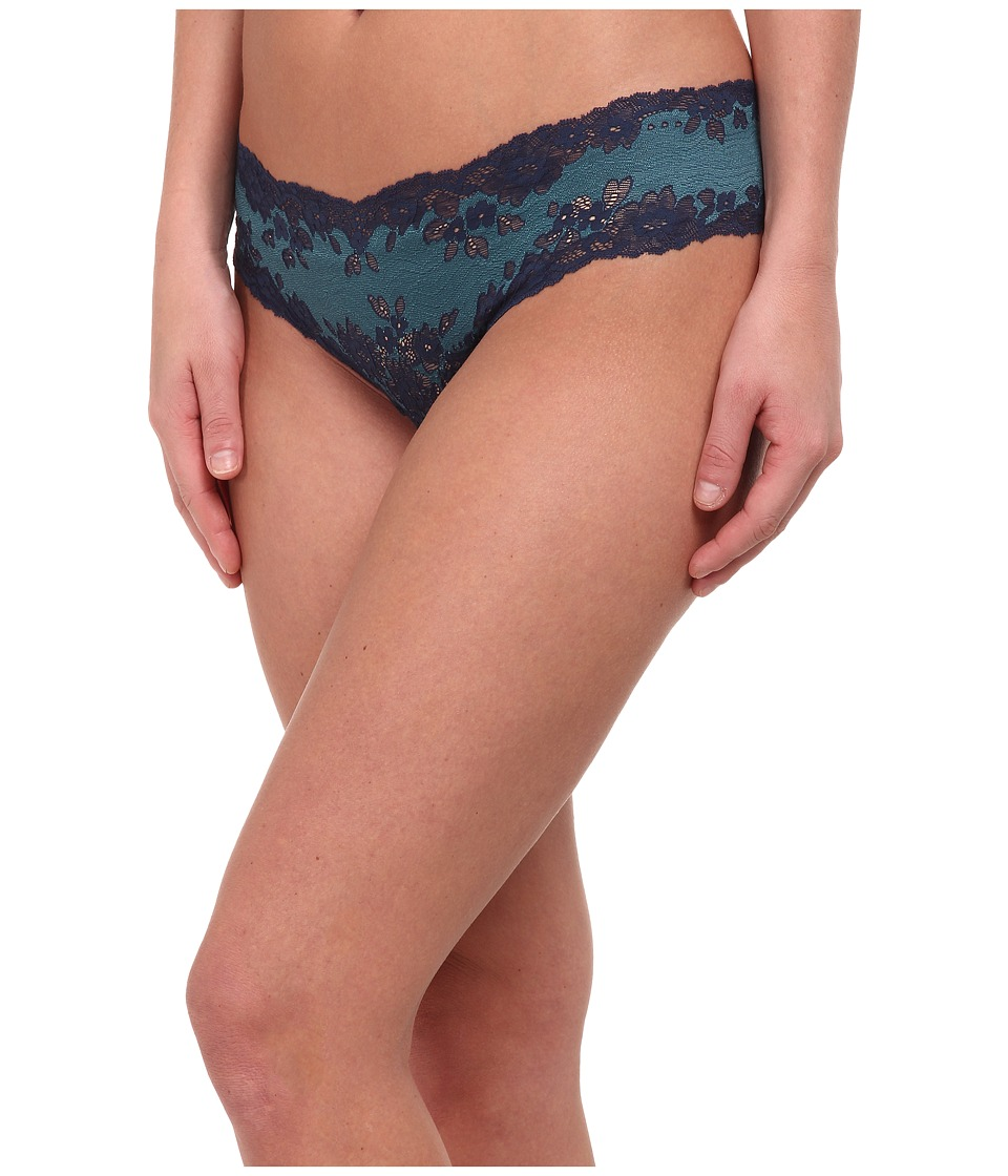Cosabella - Italia Lowrider Thong (Navy Blue/Blue Curacao) Women