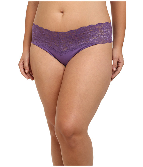 Cosabella - Extended Size Never Say Never Lovely Thong (Cabaret Purple) Women