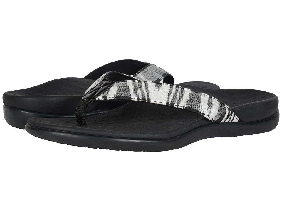 VIONIC - Tide Sequins (Black/White) Women's Sandals