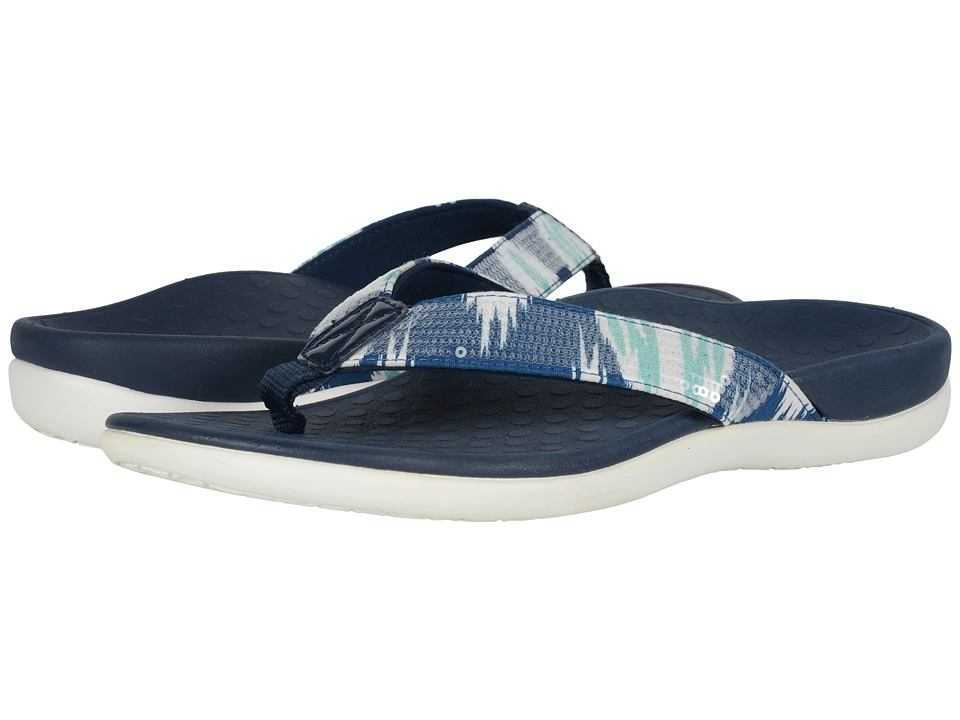 VIONIC - Tide Sequins (White/Navy) Women's Sandals