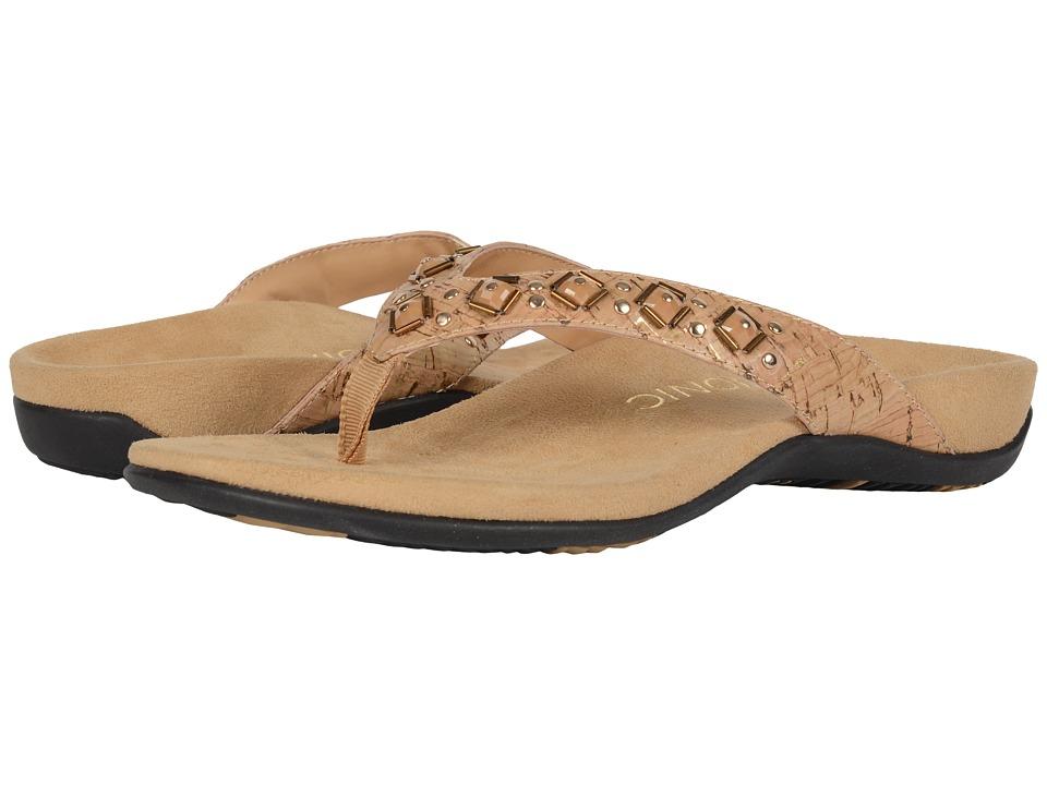 VIONIC - Floriana (Gold Cork) Women's Sandals