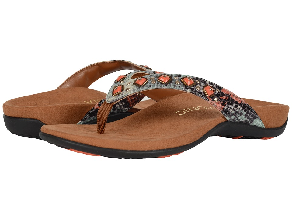 VIONIC - Rest Floriana (Mint/Coral) Women's Sandals