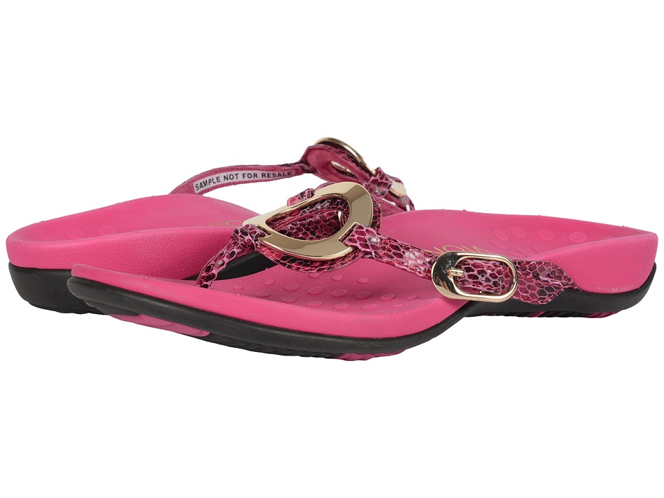 VIONIC - Rest Karina (Berry) Women's Sandals