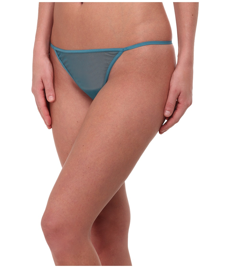 Cosabella - New Soire Lowrider Italian Thong (Blue Curacao) Women
