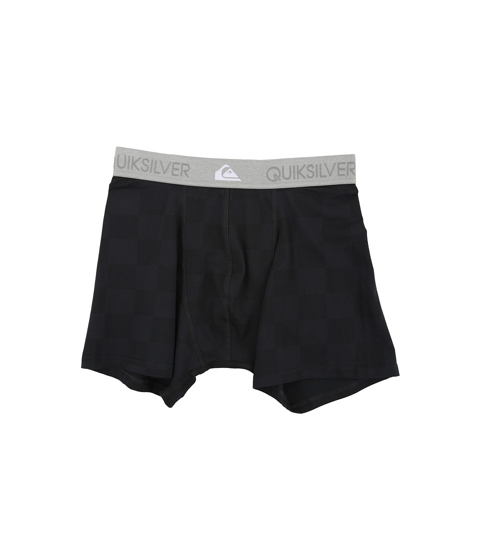 Quiksilver - Imposter B Boxer (Black Check) Men