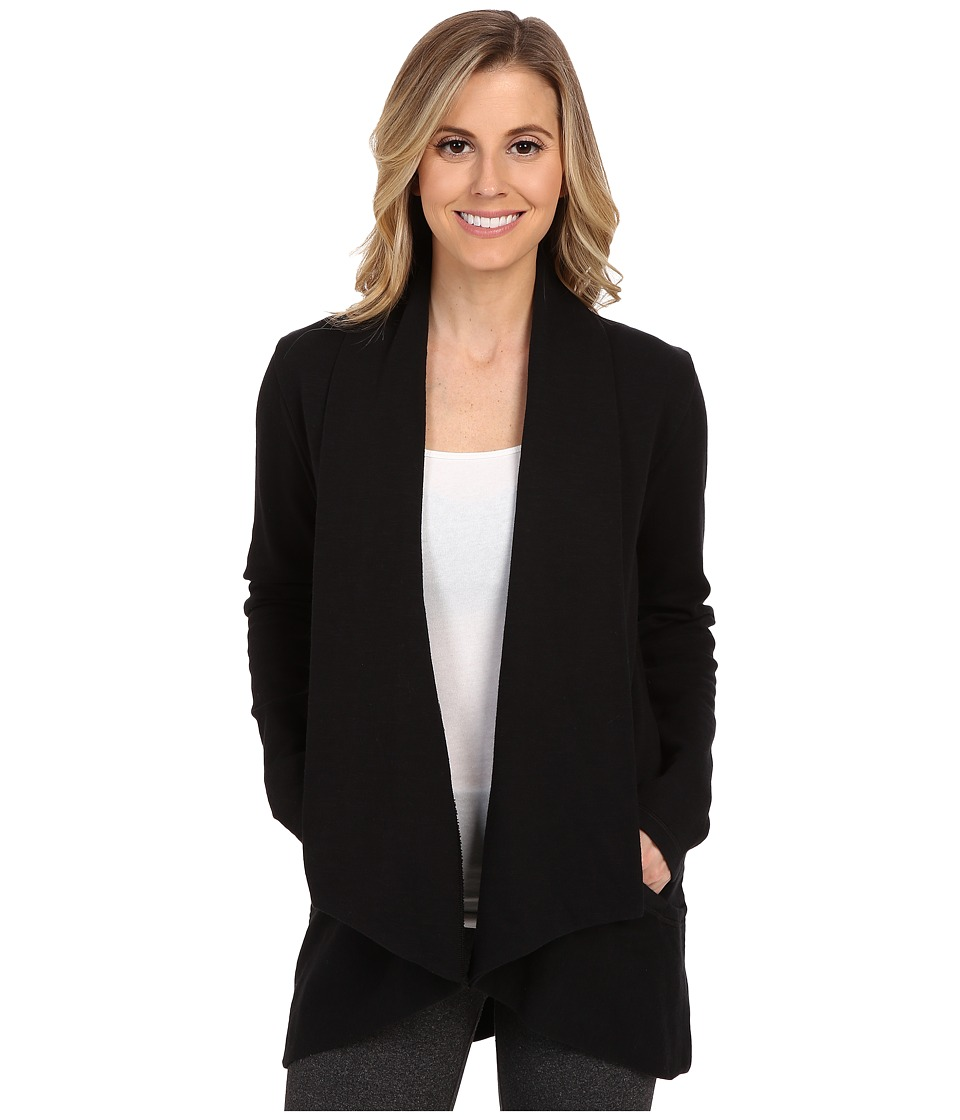 Lucy - Tranquility Slub Wrap (Lucy Black) Women's Sweater