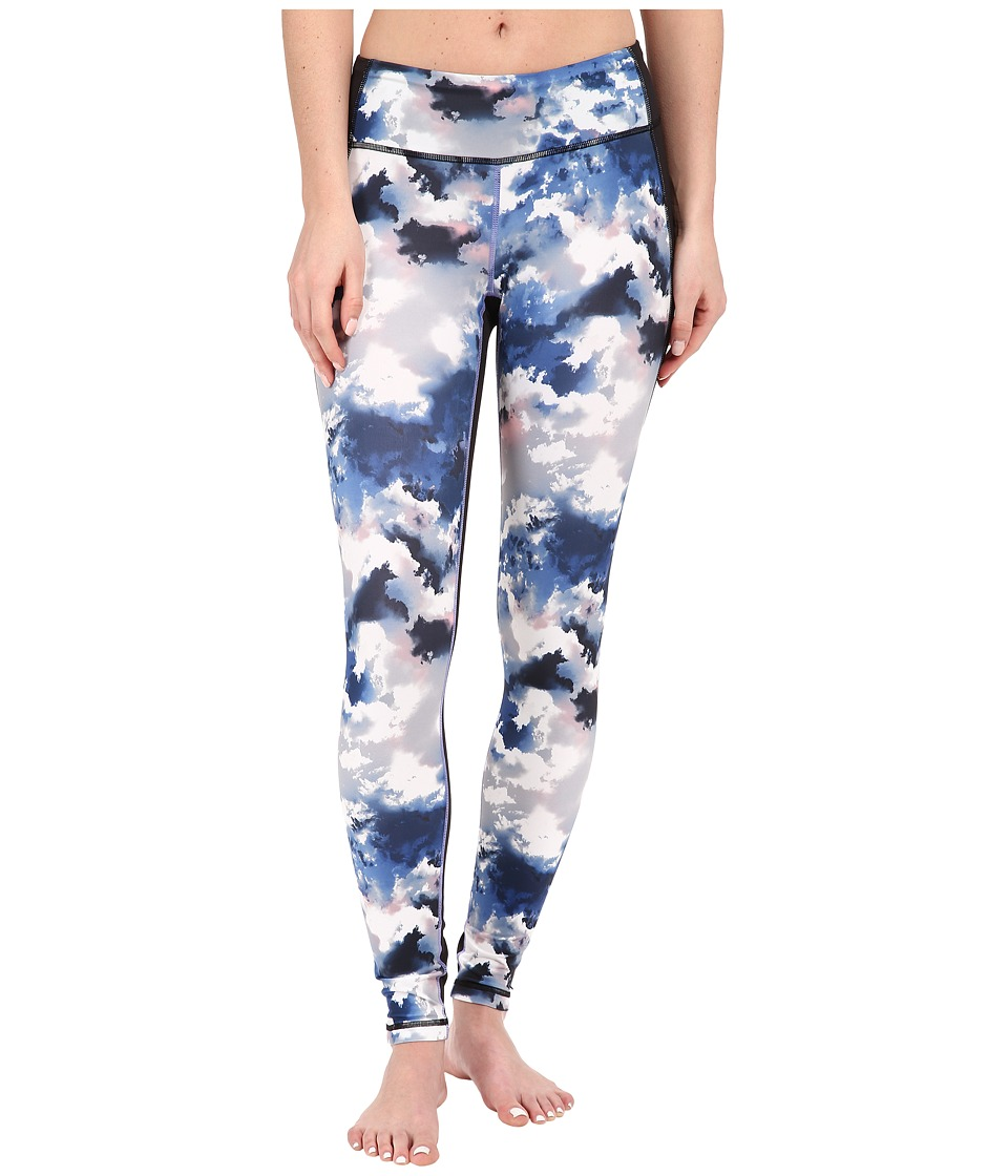 Lucy - Mat and Move Leggings (Cloud Print) Women's Workout