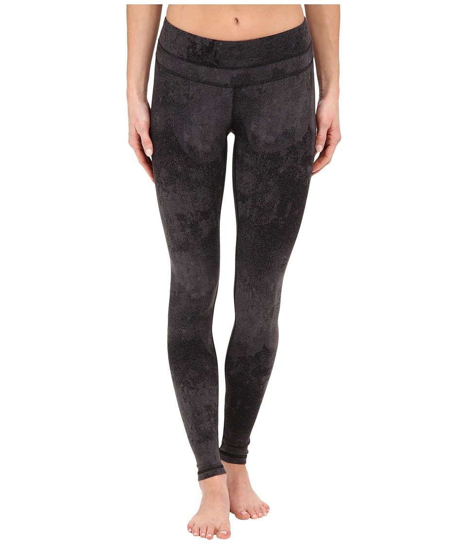 Lucy - Studio Hatha Legging (Lucy Black Distressed Print) Women's Workout