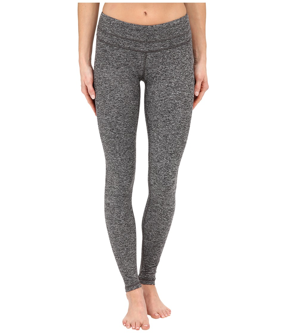 Lucy - Studio Hatha Legging (Sleet Grey Contrast Heather) Women's Workout