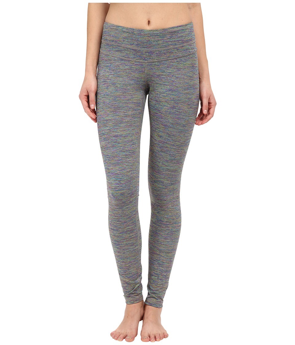 Lucy - Studio Hatha Leggings (Rainbow Jacquard) Women's Workout
