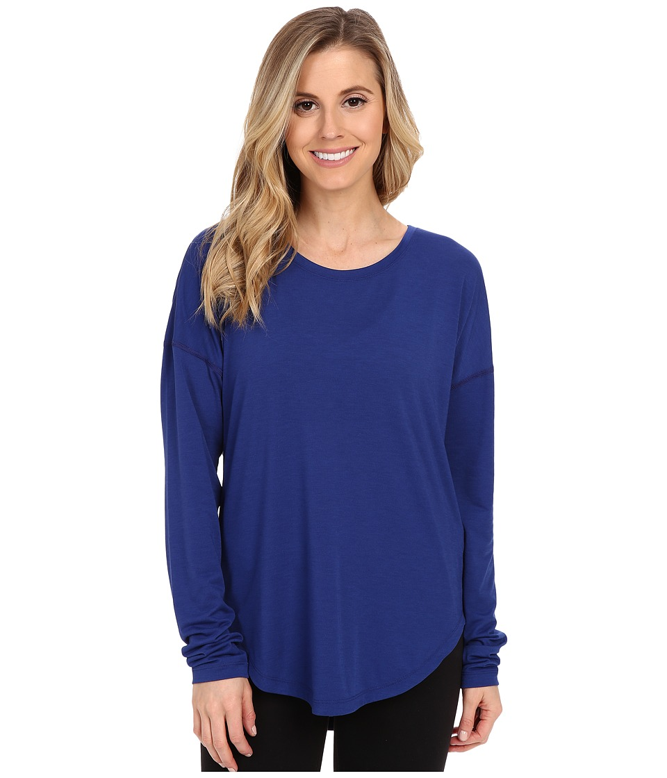 Lucy - Final Rep Long Sleeve Top (Sodalite Blue) Women's Long Sleeve Pullover