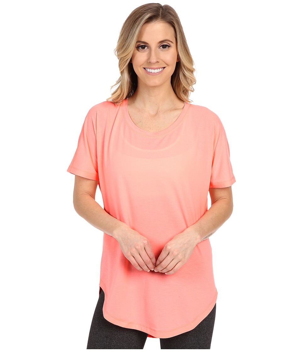 Lucy - Final Rep S/S (Blush Pink) Women's Short Sleeve Pullover