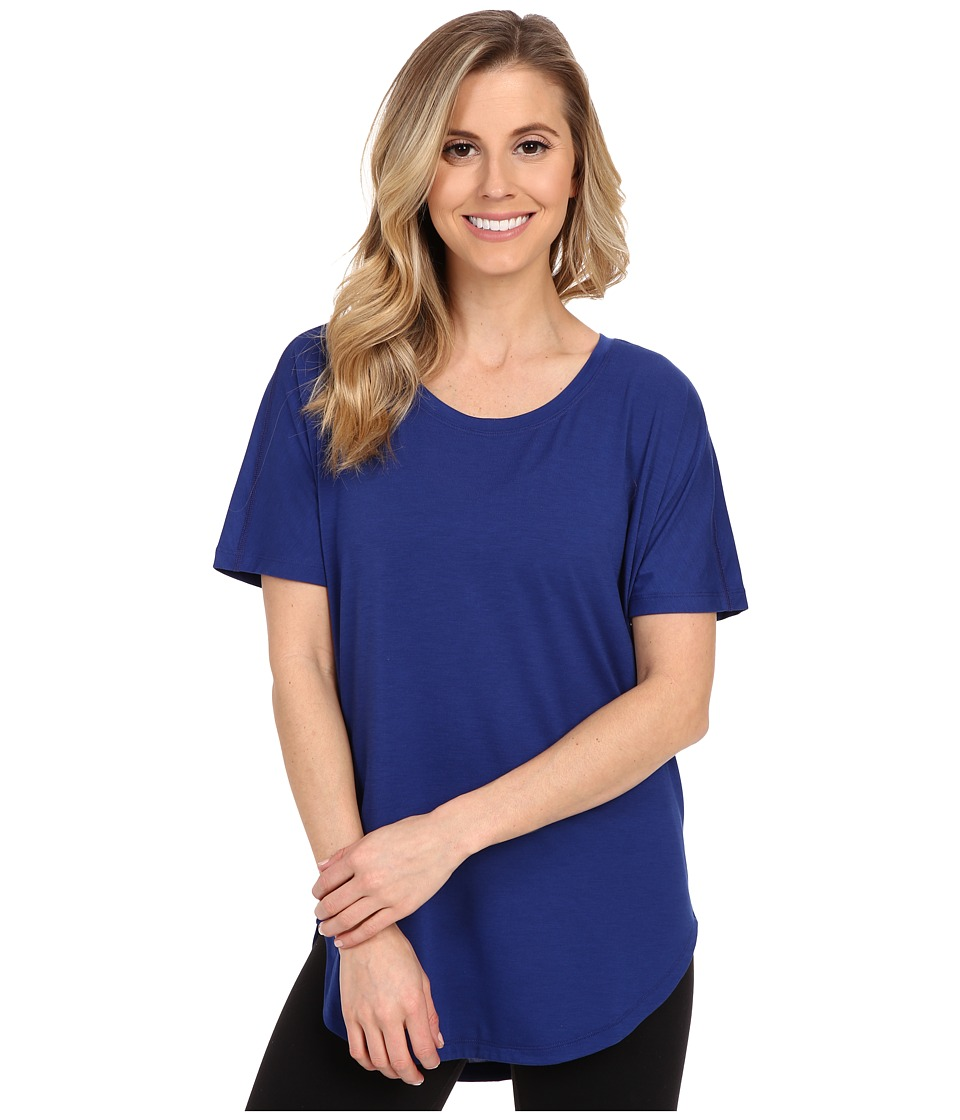 Lucy - Final Rep S/S (Sodalite Blue) Women's Short Sleeve Pullover