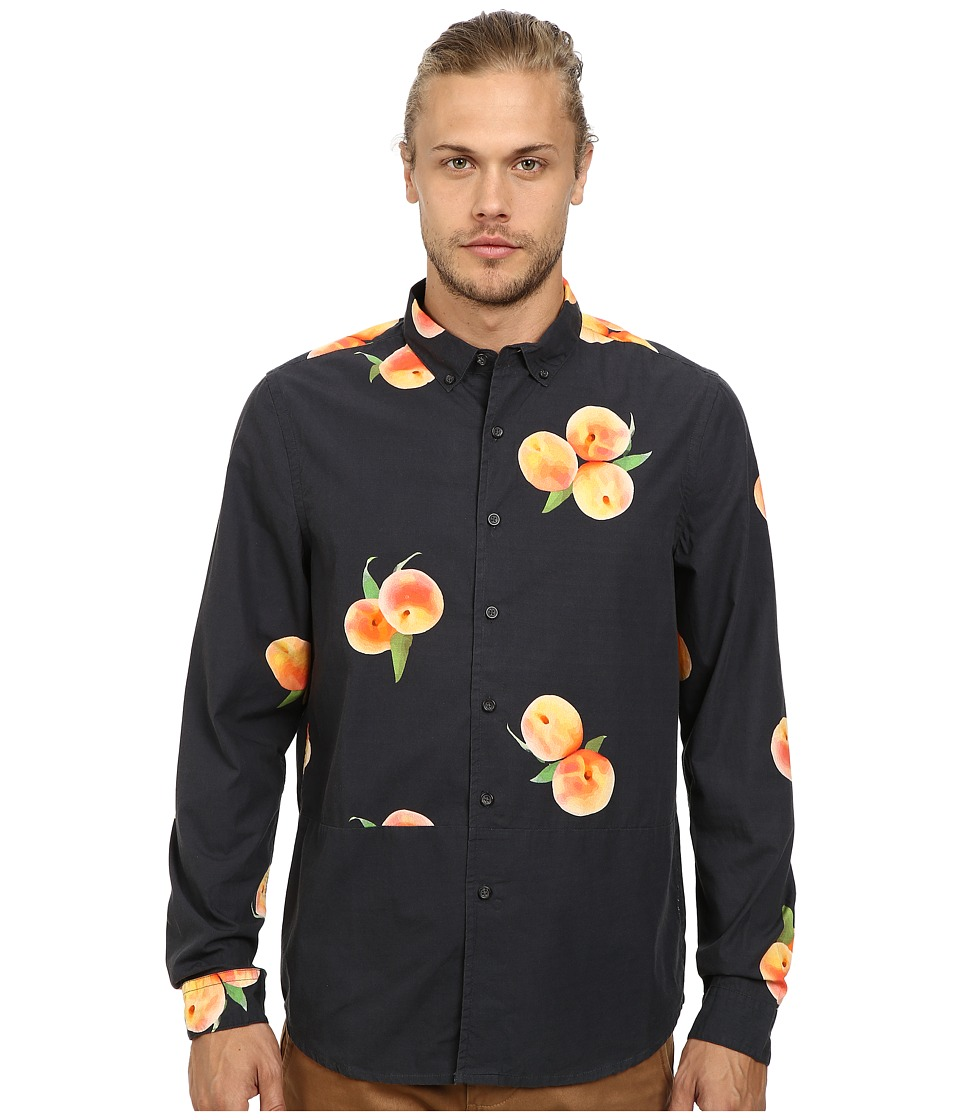 Alternative - Poplin Button Up Shirt (Digital Peach) Men's Long Sleeve Button Up
