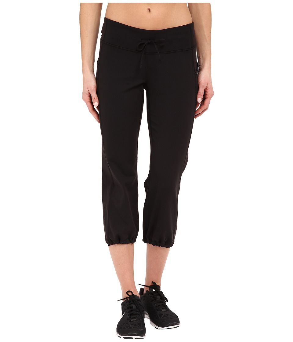 Lucy - Power Training Capris (Lucy Black) Women's Workout