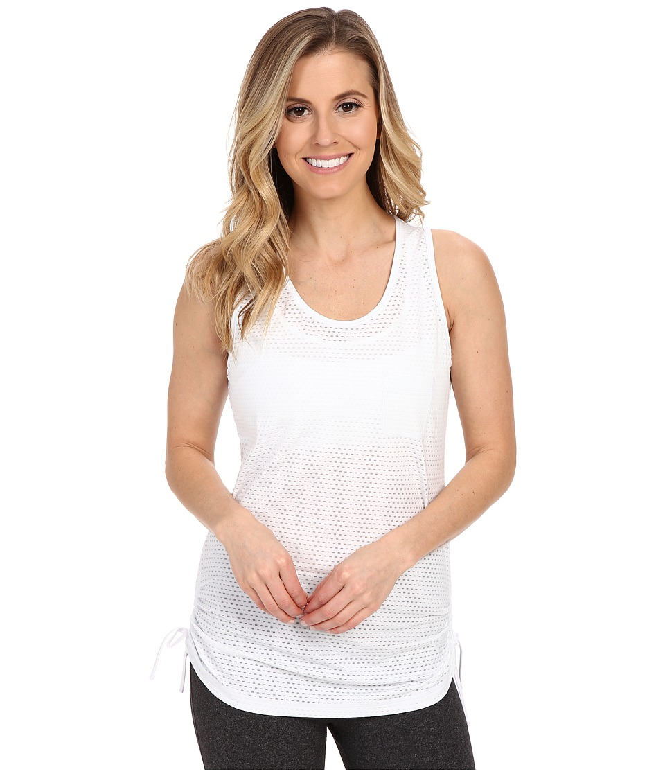 Lucy - Love My Run Tank Top (Lucy White) Women's Sleeveless