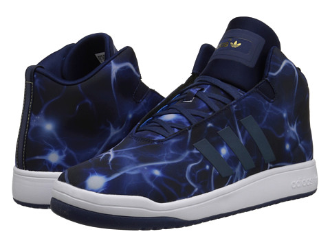 adidas Originals - Veritas Mid (Dark Blue/White) Men's Shoes