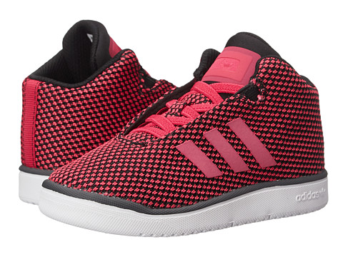 adidas Kids - Veritas Mid (Toddler) (Pink/White) Girl