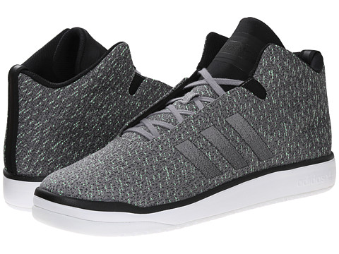 adidas Originals - Veritas Mid Weave (Black/Light Grey) Men's Shoes