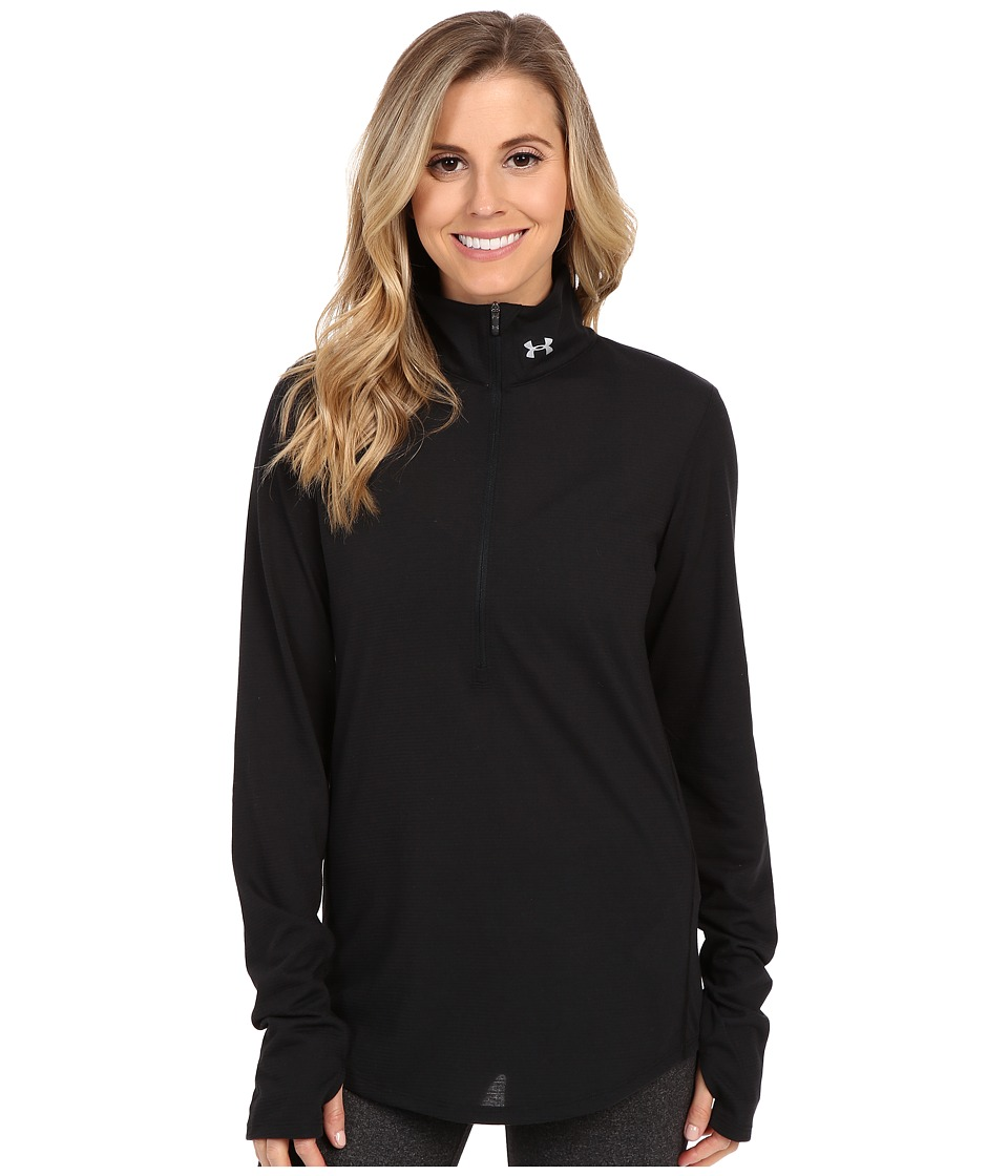 Under Armour - Streaker 1/2 Zip (Black/Black/Reflective) Women's Workout