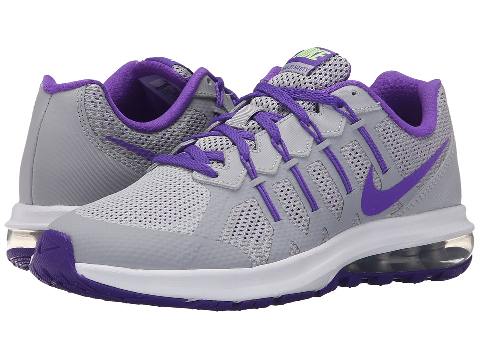Nike Kids - Air Max Dynasty (Big Kid) (Wolf Grey/Ghost Green/White/Hyper Grape) Girls Shoes