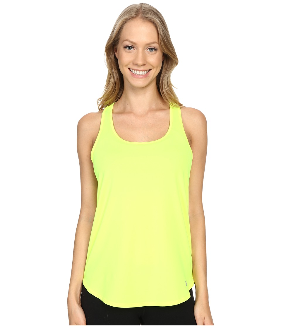 Under Armour - Fly By Run Tank Top (High-Vis Yellow/High-Vis Yellow/Reflective) Women's Workout